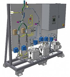 Gaseous effluent monitoring and sampling system